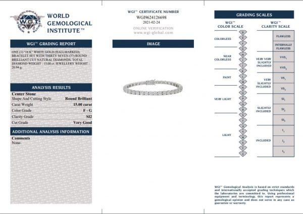 bracelet cert